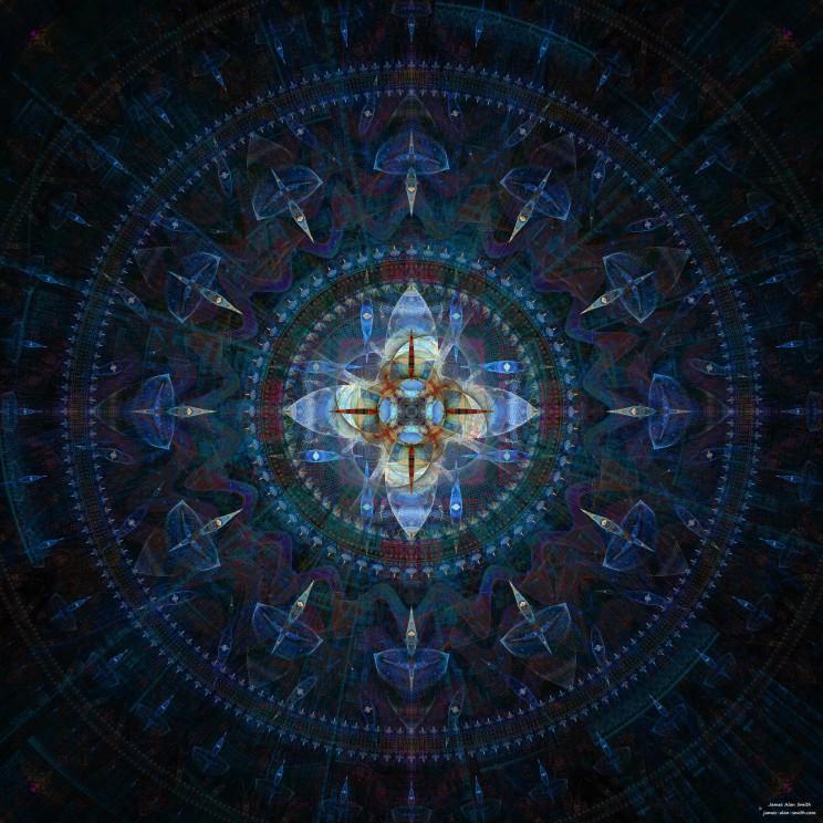 Thursday Mandala by James Alan Smith