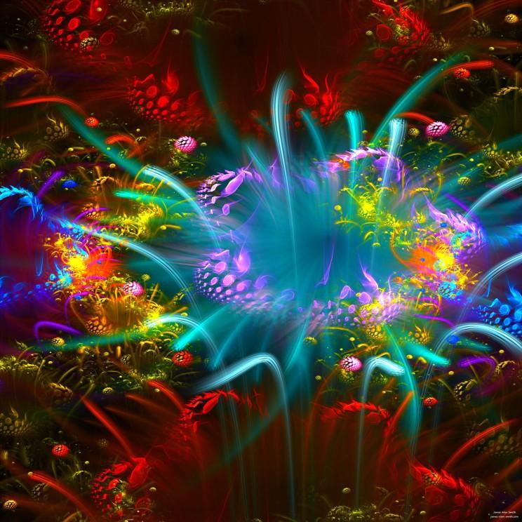 alien-lotus by James Alan Smith