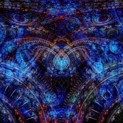 A split of Symmetry by James Alan Smith