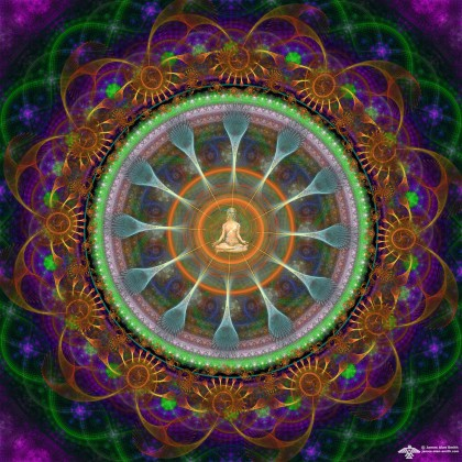 A Meditation from the Center Mandala by James Alan Smith