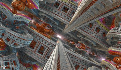 Flight Through the Chamber of Knowledge by James Alan Smith