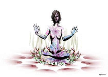 Lotus meditation by James Alan Smith
