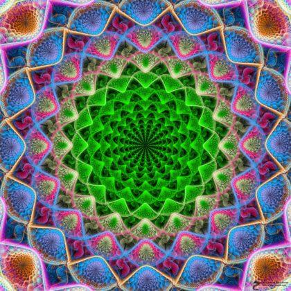Perpetual Mandala by James Alan Smith