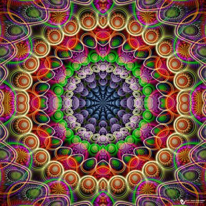Abstract Morphism Mandala: Artwork by James Alan Smith