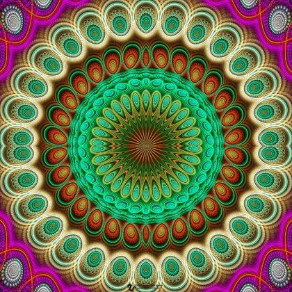 Starflash Mandala: Artwork by James Alan Smith