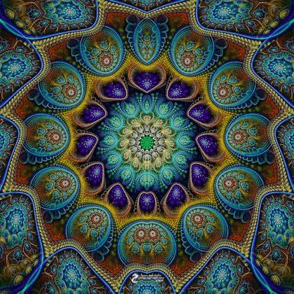Cosmic Mandala: Artwork by James Alan Smith