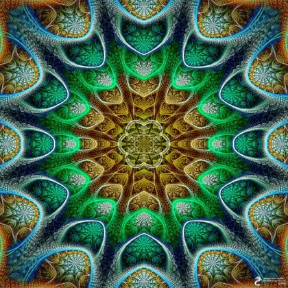 Monday Mandala: Artwork by James Alan Smith